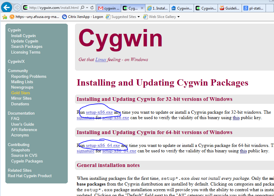 index of pe16132 csc270 note install cygwin files