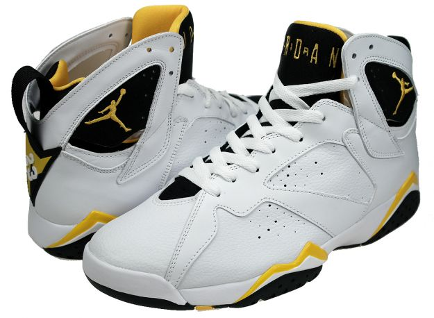 best sneakers 741d9 6f440 The Air Jordans 7, was also created by Tinker Hatfield. It was released in  1991, and is unique because it uses some of the Nike Huarache technology to  ...